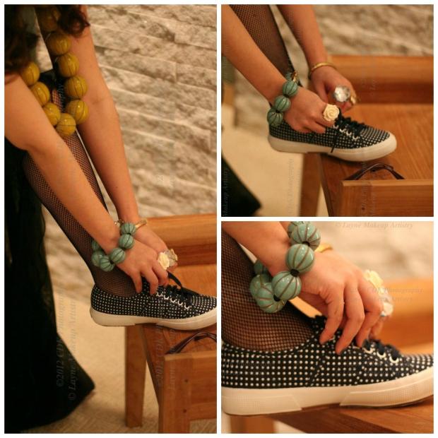 tie shoe