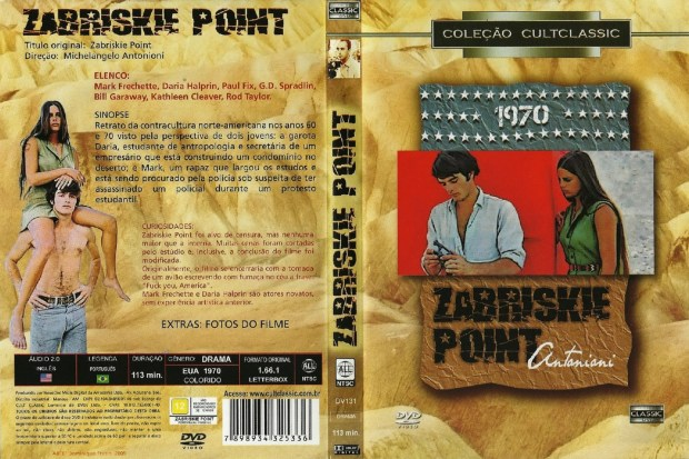 zabriskie Point Film promo cover