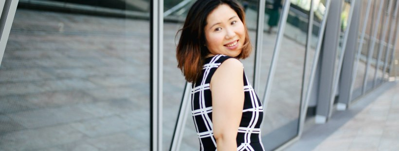 Outfit Post: A simple black and white dress… – mandsandthensome